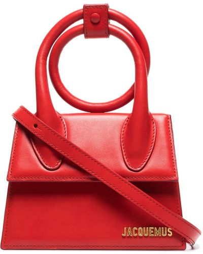 Красная сумка на плечо Jacquemus