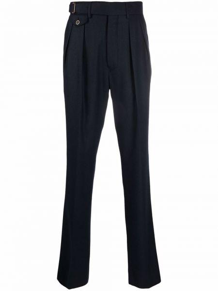 Niebieskie spodnie z wiskozy Lardini