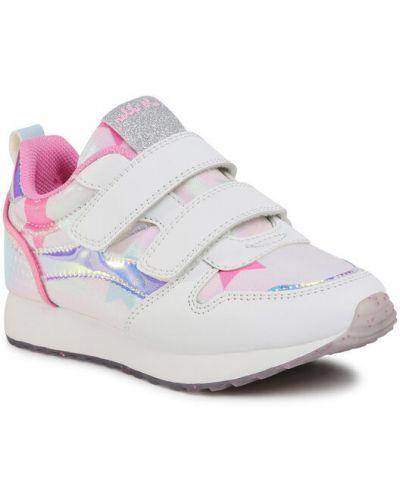 Białe sneakersy Nelli Blu