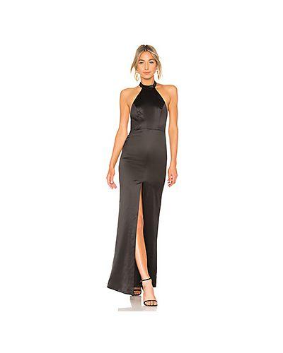 Вечернее платье с декольте на пуговицах Nbd