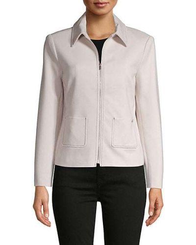 Длинная куртка с подкладкой с воротником с длинными рукавами T-tahari