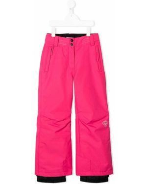 Розовые брюки Rossignol Kids