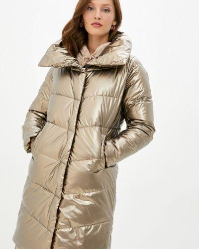 Теплая куртка золотая Zolla