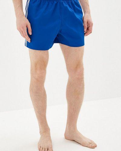 Плавки-боксеры синие Adidas