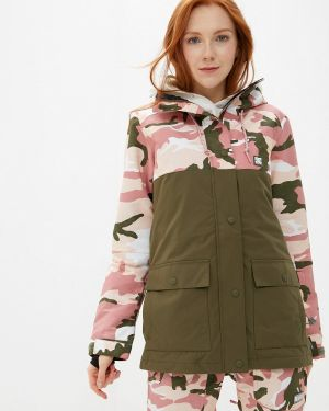 Розовая куртка горнолыжная Dc Shoes