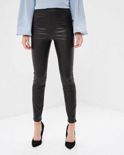 Черные брюки с завышенной талией Lost Ink.