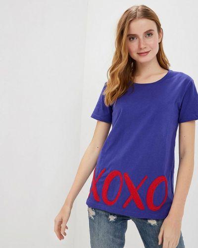 Фиолетовая футбольная футболка Sh