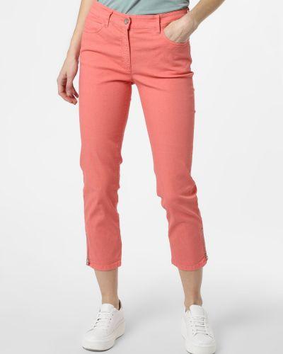 Pomarańczowe spodnie Zerres