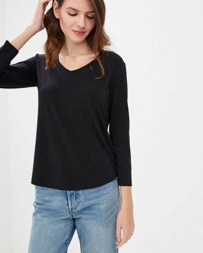 Черная блузка с длинным рукавом Silvian Heach