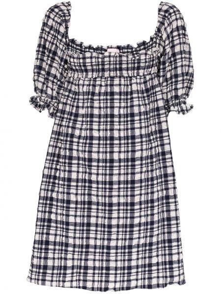 Платье мини с открытой спиной в полоску Solid & Striped