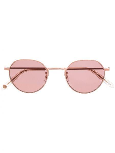 Różowe okulary Garrett Leight