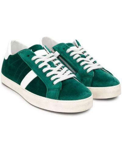 Кроссовки зеленый с заплатками D.a.t.e Kids