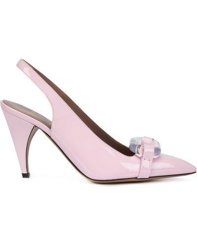 Розовые туфли с ремешком Rayne