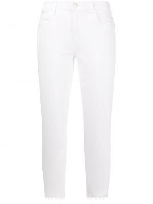 Укороченные джинсы - белые L'agence