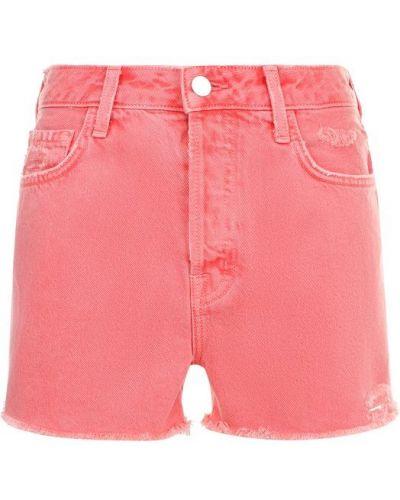 Джинсовые шорты короткие J Brand