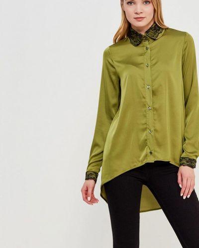 Блузка зеленый хаки Sahera Rahmani