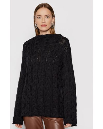 Czarny sweter Liviana Conti