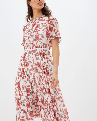 Платье прямое красный Lusio