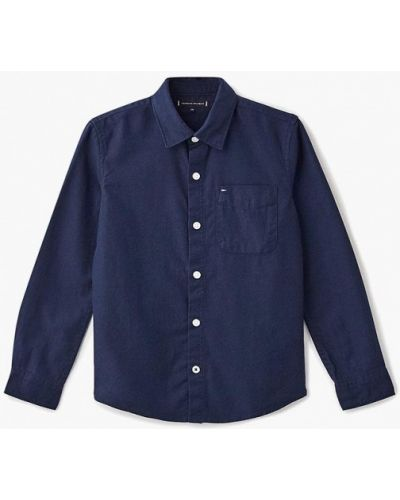 Синяя рубашка Tommy Hilfiger