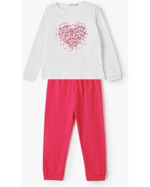 Пижама розовый белая Blukids