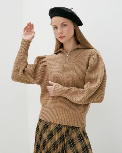Бежевый свитер Selected Femme