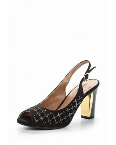 Босоножки на каблуке замшевые Zenden Woman