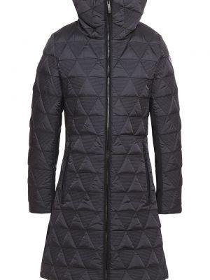 Czarna kurtka pikowana Fusalp