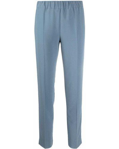 Синие с завышенной талией брюки с поясом D.exterior