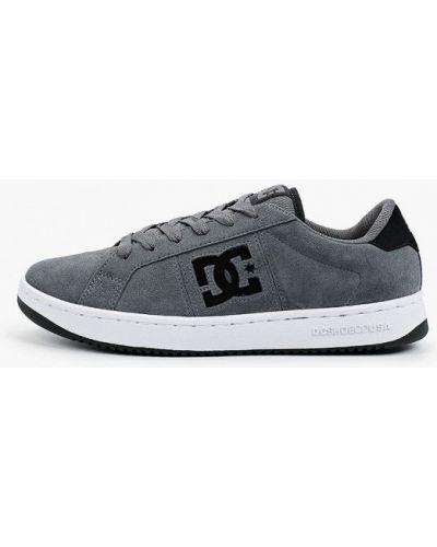 Серые низкие кеды Dc Shoes