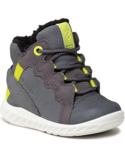 Sneakersy granatowe Ecco