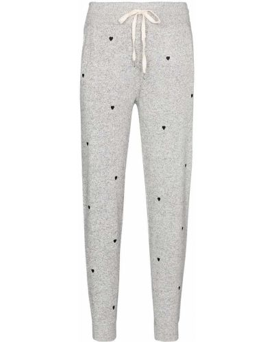 Серые спортивные брюки с поясом с вышивкой Rails