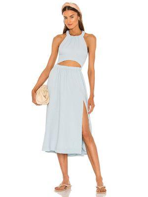 Sukienka casual - niebieska Lpa