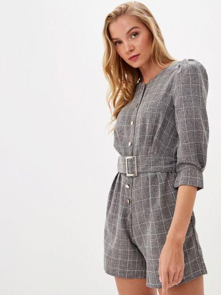 Комбинезон с шортами - серый Avemod