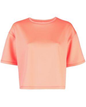 Футбольный розовый топ свободного кроя The Celect