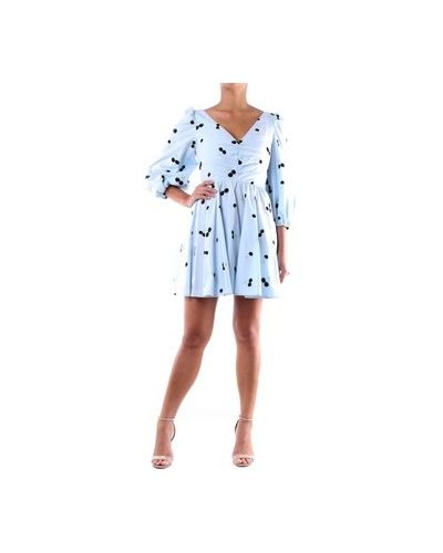 Niebieska sukienka mini Brognano