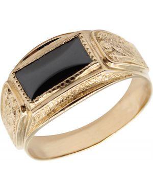 Кольцо из золота черный маршал