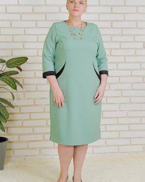 Платье миди со вставками платье-сарафан Lika Dress