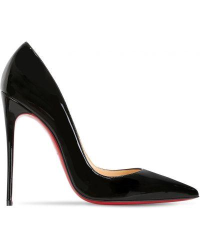 Туфли на каблуке кожаные Christian Louboutin