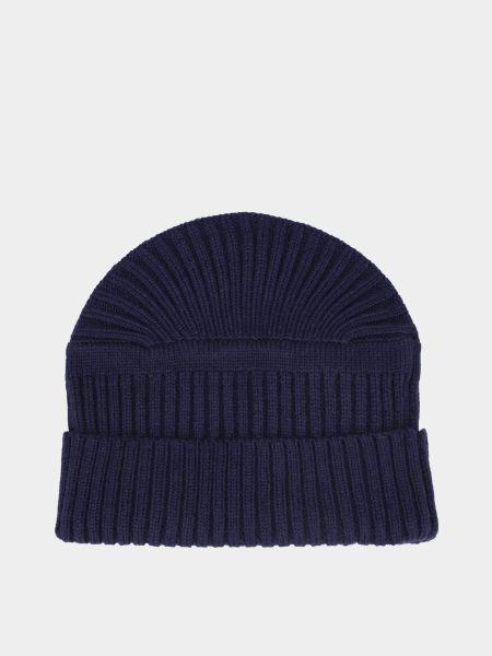 Акриловая вязаная шапка с отворотом Timberland