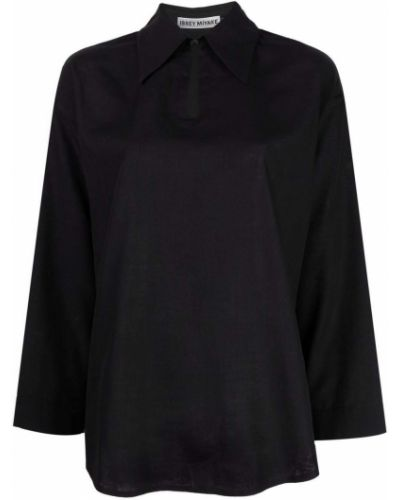 Bluzka asymetryczna - czarna Issey Miyake