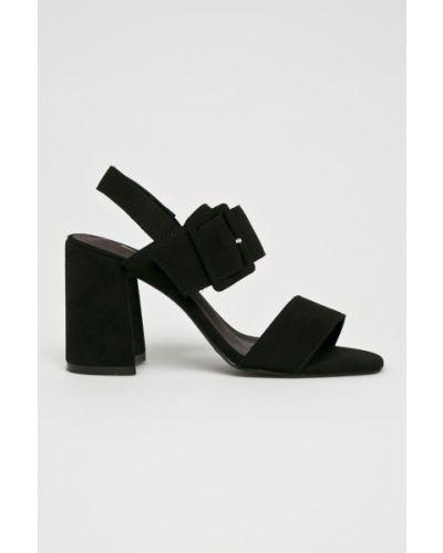Туфли на каблуке текстильные Corina