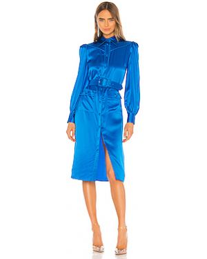 Платье с поясом на пуговицах платье-майка Divine Heritage