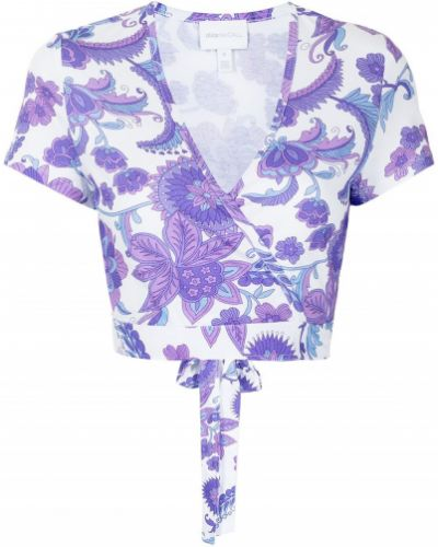 Блузка с короткими рукавами - белая Alice Mccall