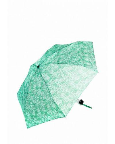Зеленый зонт складной C-collection