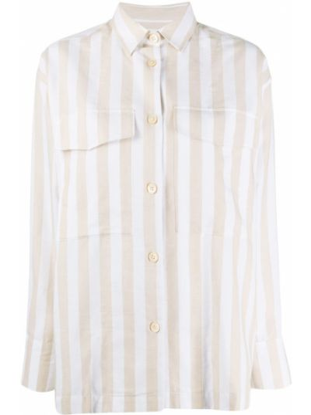 Белая прямая рубашка с воротником на пуговицах A Kind Of Guise