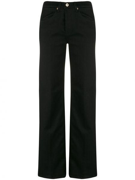 Черные джинсы на пуговицах с карманами Dondup
