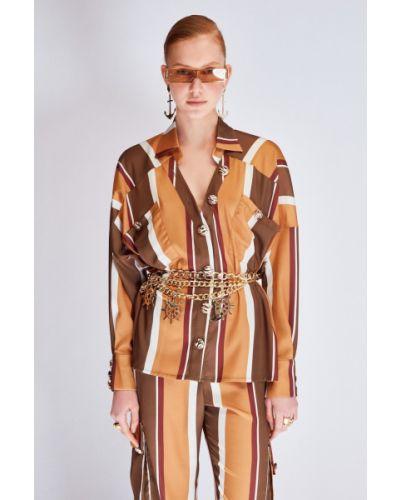 Satynowa bluzka Koton