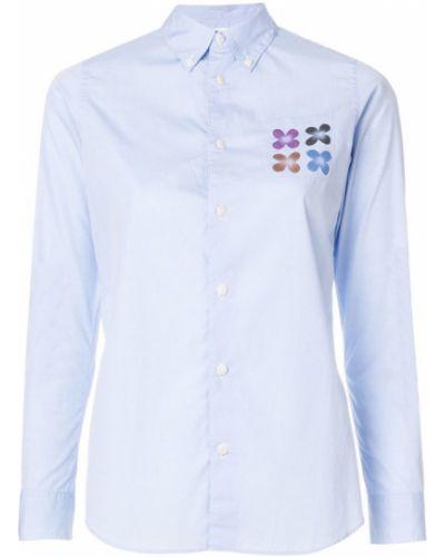Рубашка с принтом с карманами Visvim