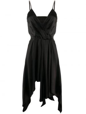 Платье миди - черное John Richmond