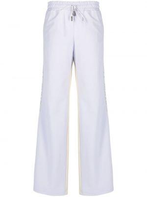 Прямые белые брюки с карманами Off-white